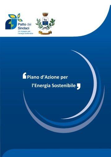 Piano d'Azione per l'Energia Sostenibile