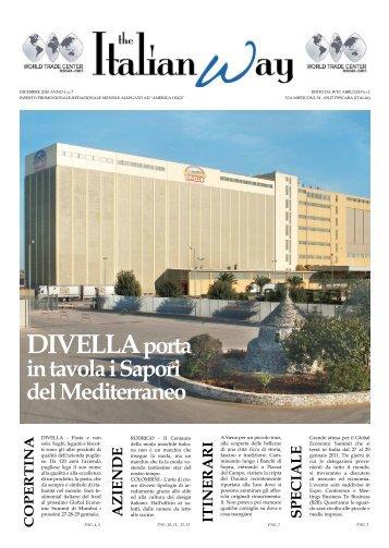 THE ITALIAN WAY DICEMBRE 2010 ANNO I, n. 7 - Case e Ville