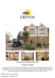 Recreation Way KEMSLEY ME10 2RD £160,000 ... - Expert Agent