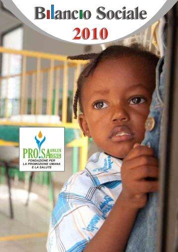 Bilancio sociale integrale - Fondazione PRO.SA