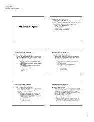 1 Antiarrhythmic Agents Antiarrhythmic Agents Antiarrhythmic ...
