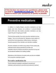 Maintenance List Drugs - HealthPartners