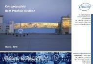 Kompetenzfeld Best Practice Aviation - Visality Consulting GmbH