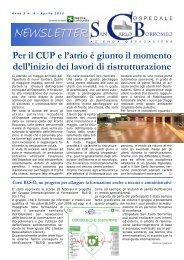 Anno 5, n. 4 - aprile 2012 - Ospedale San Carlo Borromeo
