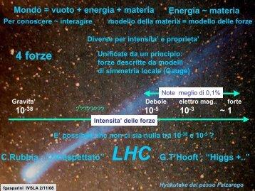 LHC e - Istituto Veneto di Scienze, Lettere ed Arti