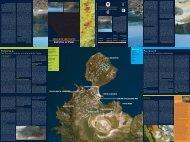 Isola di Vulcano. Carta dei sentieri - Protezione Civile