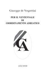 Venti anni di CA - Coordinamento Adriatico