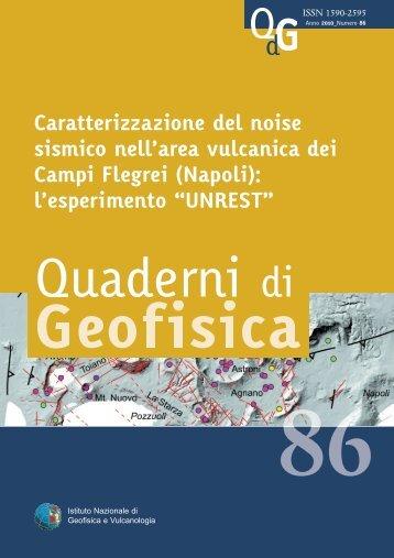 quadernoBianco:Layout 2 - L'Istituto - Ingv