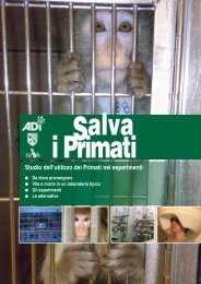 Salva i Primati - TV Animalista