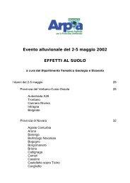 Analisi degli effetti al suolo - Arpa Piemonte
