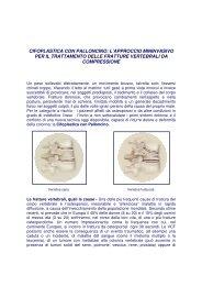 Cifoplastica - Ospedale Sacro Cuore Don Calabria