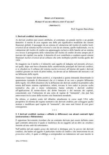 scarica pubblicazione in PDF - Orizzonti del Diritto Commerciale