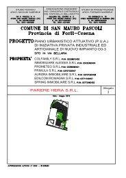 Parere Hera comparto 3D - Comune di San Mauro Pascoli