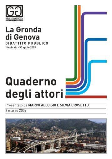 Quaderno inviato da Marco Alloisio e Silvia Crosetto - Urban Center ...