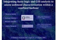 Integrating fuzzy logic and GIS analysis to assess sediment ...