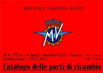 Catalogo parti di ricambio MV 175 C.S.T.L - Rpw.it