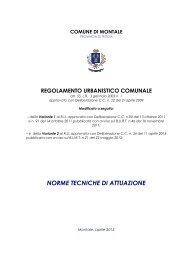 NTA RU VARIANTE 2 approvato Testo aggiornato - Comune di ...
