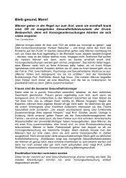 Bleib gesund Mann - Vivesco® Apotheken-Partner GmbH