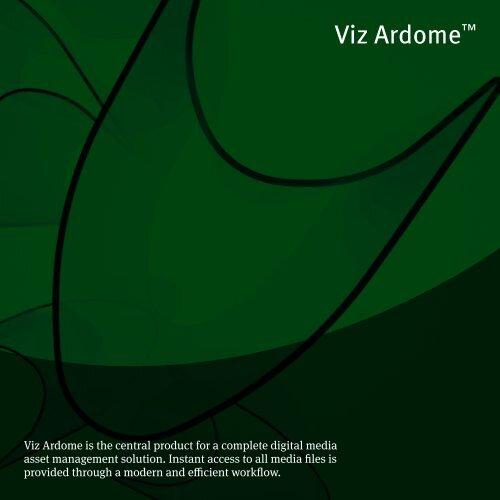 Viz Ardome™ - Vizrt com