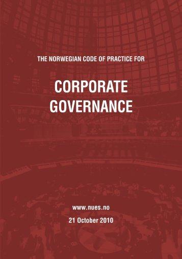 Corporate Governance Exam Paper