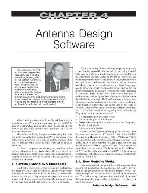 Chapter 4—Antenna Design Software - VSS home page