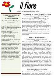 Descrizione 150 ANNI UNITA' ITALIA, IL FIORE ... - Fiore del Deserto