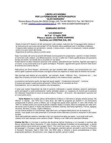 """seminario estivo di pittura e disegno - Libera Accademia """"Aldo ..."""