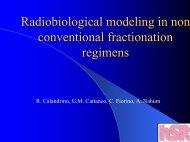 Il progetto e la radioprotezione per un impianto ciclotrone ad ... - ABFM