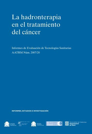 hadronterapia-OK.qxp:Maquetación 1 - Generalitat de Catalunya