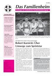 Familienheim 3/2007 - Katholische Familienheimbewegung e.V.