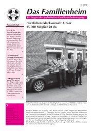 Familienheim 3/2008 - Katholische Familienheimbewegung eV