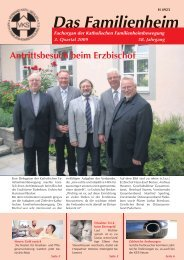 Familienheim 3/2009 - Katholische Familienheimbewegung eV