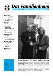 Familienheim aktuell 1/2006 - Katholische Familienheimbewegung eV