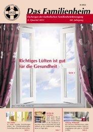 Familienheim 4/2011 - Katholische Familienheimbewegung e.V.