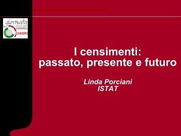 I censimenti - Provincia di Pisa