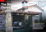 """The Six Dishes from """"Lasmotos"""""""