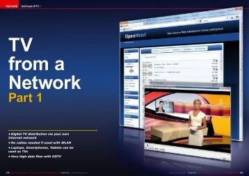 TV from a Network
