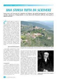 Nuove ricerche sulla storia dei Monasteri. - Convento di Campello ...