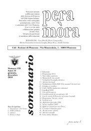 Pera Mòra 2010 - C.A.I. Pianezza