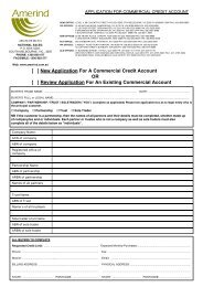 [ ] New Application For A Commercial Credit Account OR ... - Amerind