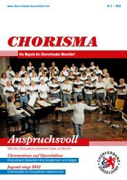 download - Chorverband Düsseldorf