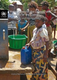 Water Issues in the Democratic Republic of the Congo