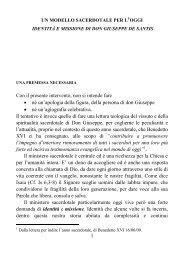 libro su don giuseppe de santis - Diocesi di Terni