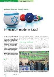Innovation made in Israel
