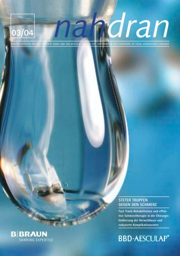 Ausgabe zum Downloaden als PDF - B. Braun Melsungen AG