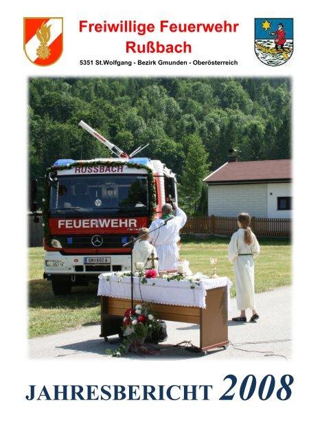 JAHRESBERICHT 2008 - Freiwillige Feuerwehr Rußbach