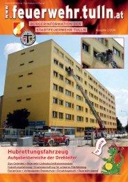 pdf, ~1,5 MB - Stadtfeuerwehr Tulln - Tulln an der Donau
