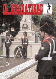 n. 2 - aprile - giugno 2008 - Associazione Nazionale Granatieri di ...