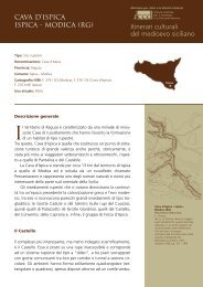 Itinerari culturali del medioevo siciliano - Iccd - Ministero per i Beni e ...