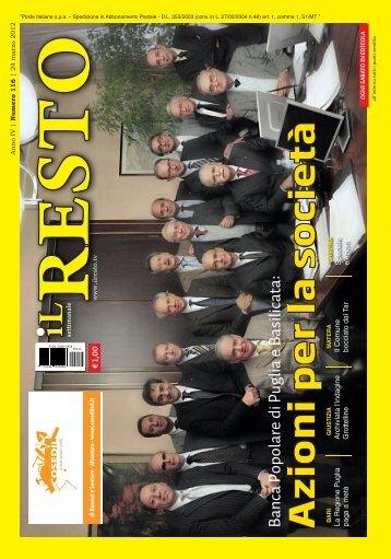 24 marzo 2012 - Il Resto